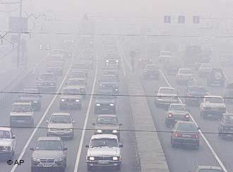 هوای امروز تهران برای گروههای حساس در شرایط ناسالم است