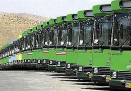 خدمات رسانی ۶۳۰۰ اتوبوس در پایتخت در ساعات برفی امروز