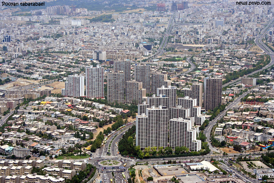 هوای ناپاک  تهران در روز هوای  پاک