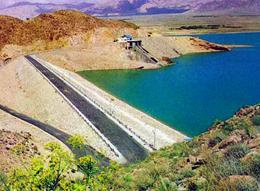 پروژه سد خاکی شهرستان دشتی به بهرهبرداری رسید