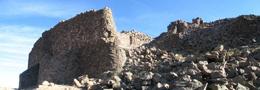قلعه شاهدژ نهبندان بزرگترین شهر سنگی مخروبه شرق ایران است