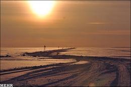 تصاویری از طولانی ترین جاده یخی دنیا