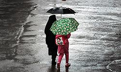 کاهش دمای هوا و تشدید بارشها در نیمه شمالی کشور
