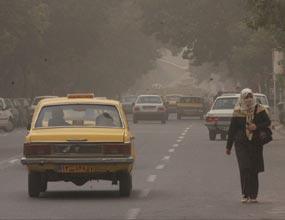 وزش بادهای شدید و گرد و خاک در خوزستان