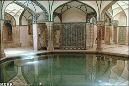 مرمت حمام تاریخی وکیل شیراز آغاز شد