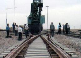 اولین سوزن بتنی ساخت داخل در شبکه ریلی کشور نصب شد