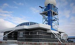 نصب نخستین نیروگاه بادی- خورشیدی کشور در جزیره خارک