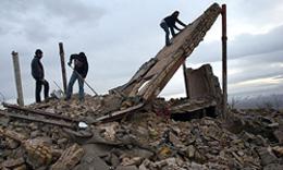 ریزش ساختمان مدرسه تاریخی حافظ