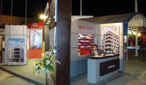 چهاردهمین نمایشگاه بینالمللی ساختمان در مشهد افتتاح شد
