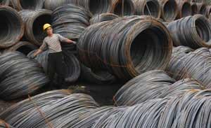 شیب آرام قیمتها در بازار آهن