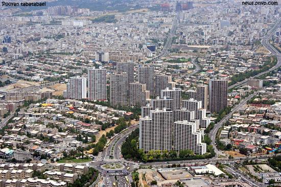 وضعیت تهران پس از زلزله مهیب