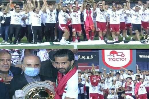 شهردار تبریز در پیامی قهرمانی تراکتوردر جام حذفی را تبریک گفت