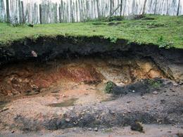 میزان فرسایش خاک بیش از ۱۶ تن در هر هکتار