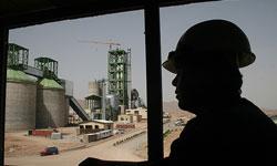 زیاندهی کارخانههای سیمانی مازوتسوز