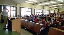تشکیل کلاس درس در ساختمان منابع آب