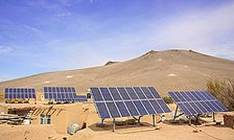تلاش عربستان برای تولید برق از انرژی خورشید و باد