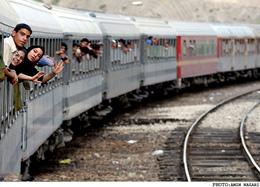 خسارت سیل به راه آهن مازندران- گلستان