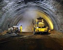 تونل گردنه رخ در محور شهرکرد - اصفهان ریزش کرد