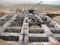 ساخت برج افتخار هستهای با معماری اسلامی و ایرانی در شاهرود
