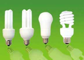 توصیه هایی برای استفاده از لامپهای کم مصرف