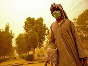 آلودگی هوای خوزستان ۲۳ برابر حدمجاز