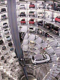 احداث پارکینگ طبقاتی در واحد علوم تحقیقات دانشگاه آزاد