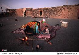 آب به چادر زلزله زدگان نفوذ کرد