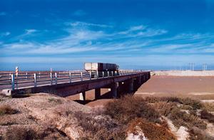طراحی و ساخت دو پل بتنی در کاشان