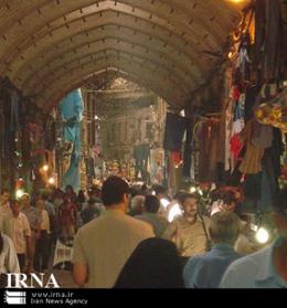 سقف ۲ مغازه در بازار تهران فرو ریخت