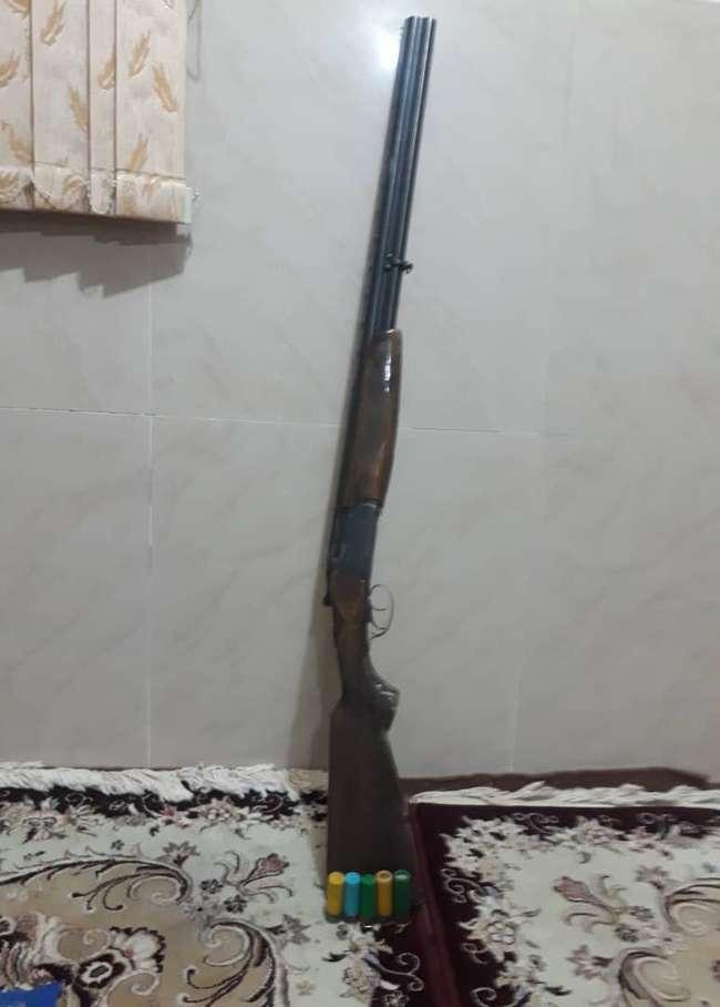 دستگیری متخلف شکار و صید پرندگان در سمیرم