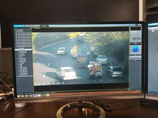 استفاده از دوربینهای نظارت ترافیکی برای جلوگیری از سد معبر خودرویی