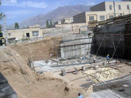کنترل و نظارت مستمر گودبرداریهای ساختمانی در شرق تهران