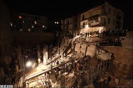 چرا ساختمانهای تهران ریزش میکند؟