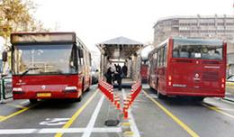همراهی یک خط جدید BRT همزمان با افتتاح بزرگراه طبقاتی صدر