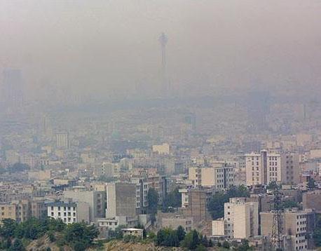 هوای تهران برای افراد حساس ناسالم است
