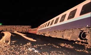 خارج شدن قطار اهواز ـ تهران تلفات جانی نداشت