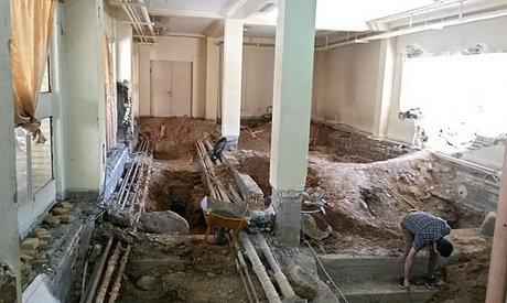 خوابگاه دانشجویی در آستانه ریزش + عکس
