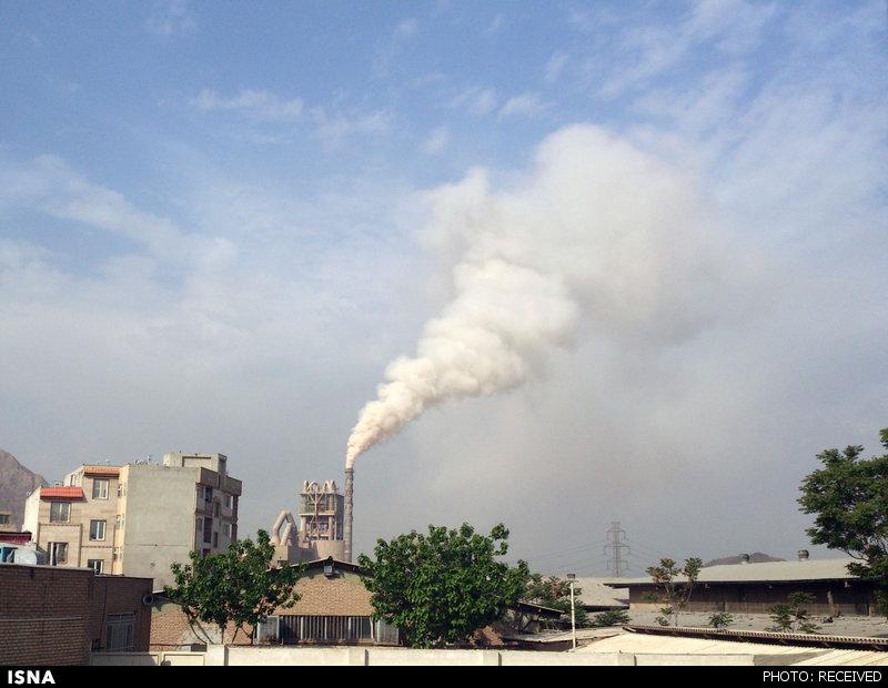 دلایل آلایندگی دیروز کارخانه سیمان تهران اعلام شد