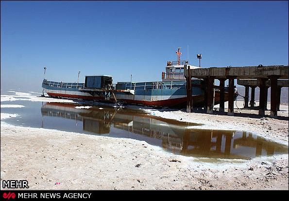 تابستان آخرین مهلت احیای دریاچه ارومیه/ تنها ۷ درصد مساحت آب باقی ماندهاست