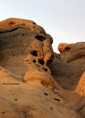 وردیج، روستای آدمک های سنگی