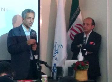 سخنرانی هادی تهرانی در نشست با معماران برجسته ایران دانشگاه پارس