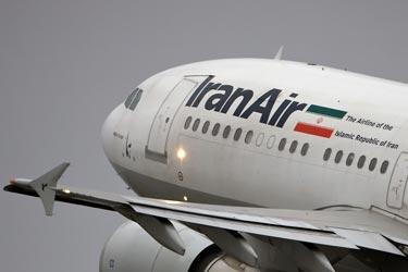 پرواز گردشگران خارجی با بوئینگ ۷۴۷ ایران ایر