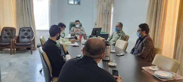 نشست سه جانبه فرماندهان یگان حفاظت محیط زیست منابع طبیعی و میراث فرهنگی در کهگیلویه و وبویراحمد