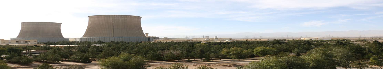 آبیاری فضای سبز نیروگاه یزد با استفاده از پساب تولیدی