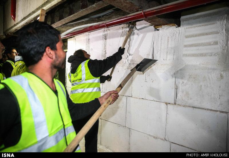 اجرای حکم تخریب طبقه منفی سه و طبقه هفتم پاساژ علاءالدین