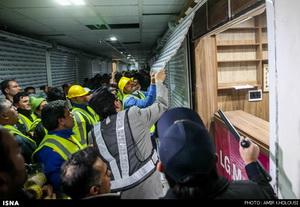 تخریب و پلمپ پاساژ علاءالدین به دلیل تخلفات در ساخت و ساز