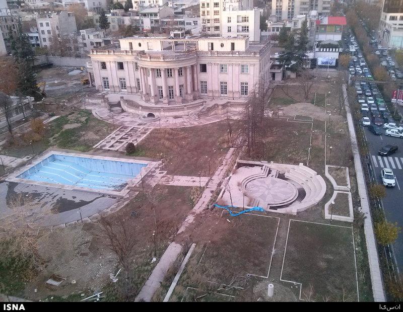 """بزرگترین خانه تهران """"فعلا"""" تخریب نمیشود"""