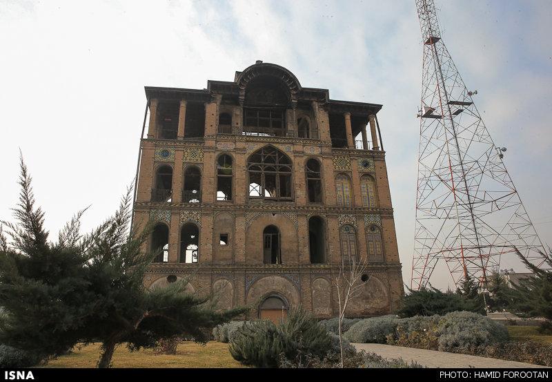 توقف عملیات ساختمانی در محدوده عمارت عشرتآباد
