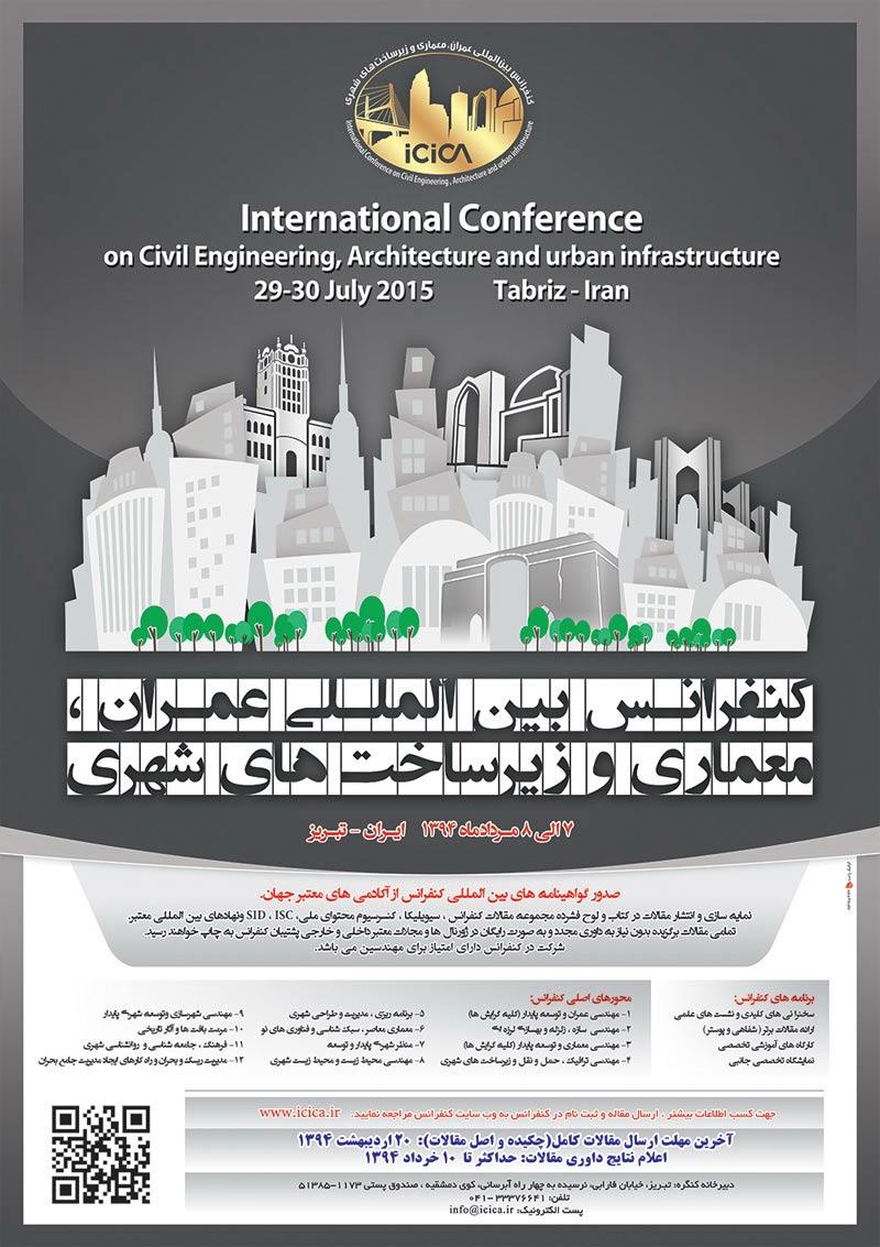 کنفرانس بین المللی عمران، معماری وزیرساخت های شهری