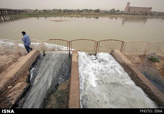 زه آبهای کشاورزی نفس خوزستانیها را بریده است
